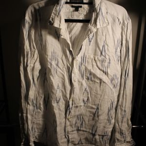 Men's Banana Republic Graphic Print Button Down
